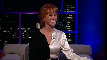 Tavis Smiley -- Comedian & author Kathy Griffin