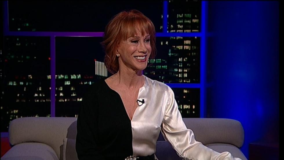 Comedian & author Kathy Griffin image