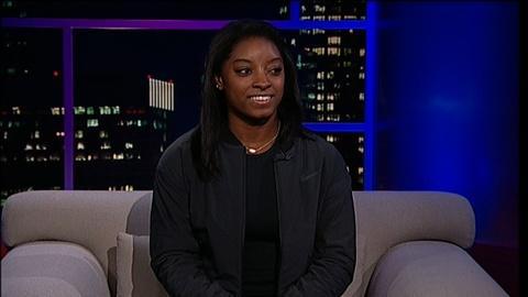 Tavis Smiley -- Olympic Gymnast Simone Biles