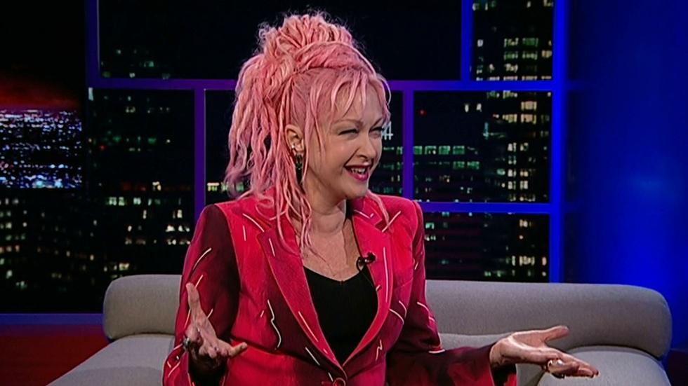 Singer-songwriter Cyndi Lauper image