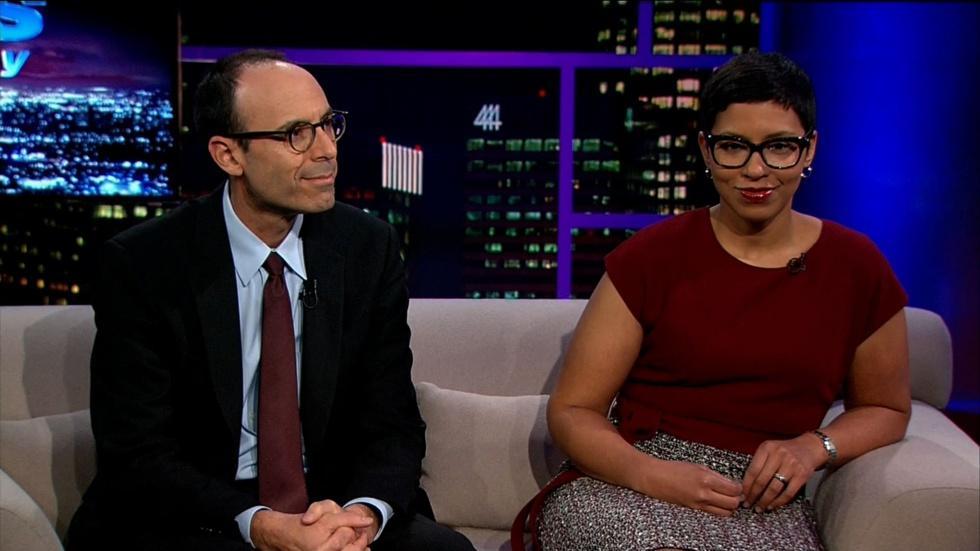 Law Professor Adam Winkler & Interim Dean, Melissa Murray image