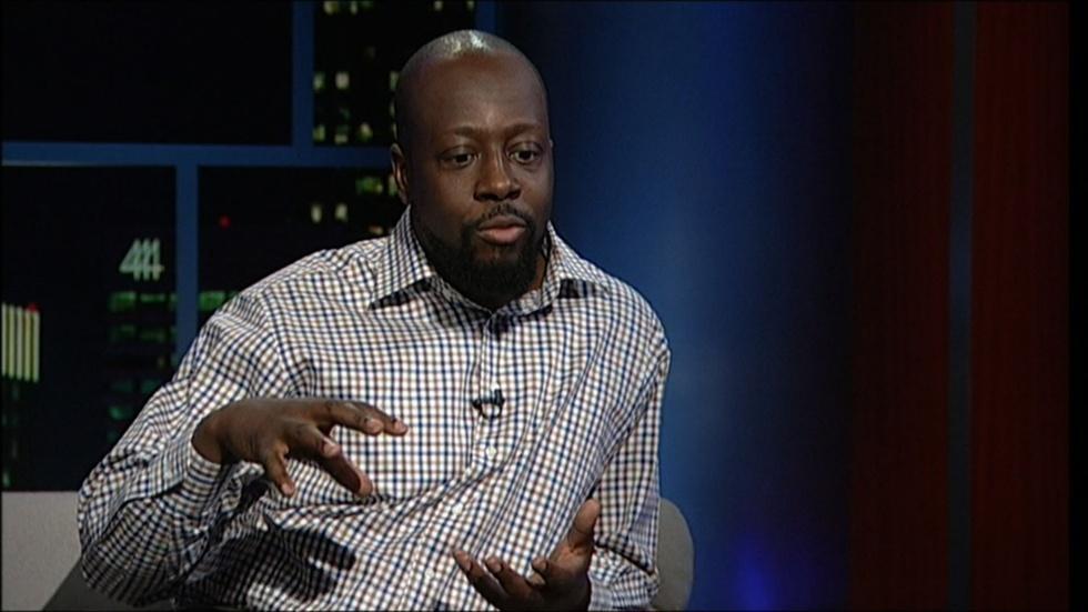 Singer-songwriter-activist Wyclef Jean image