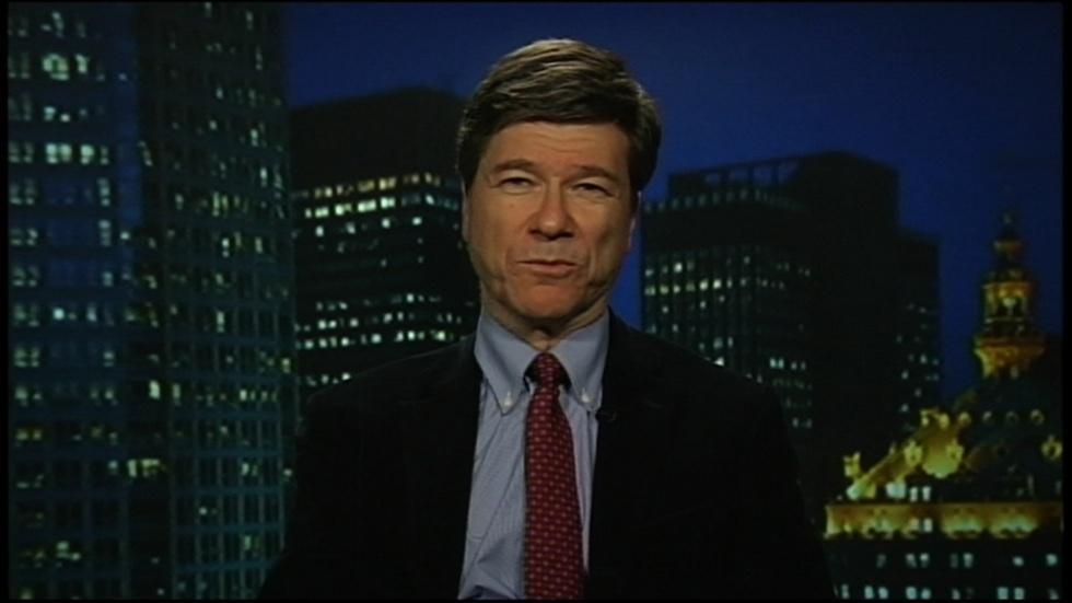 Economist Jeffrey Sachs: October 2nd, 2012 image