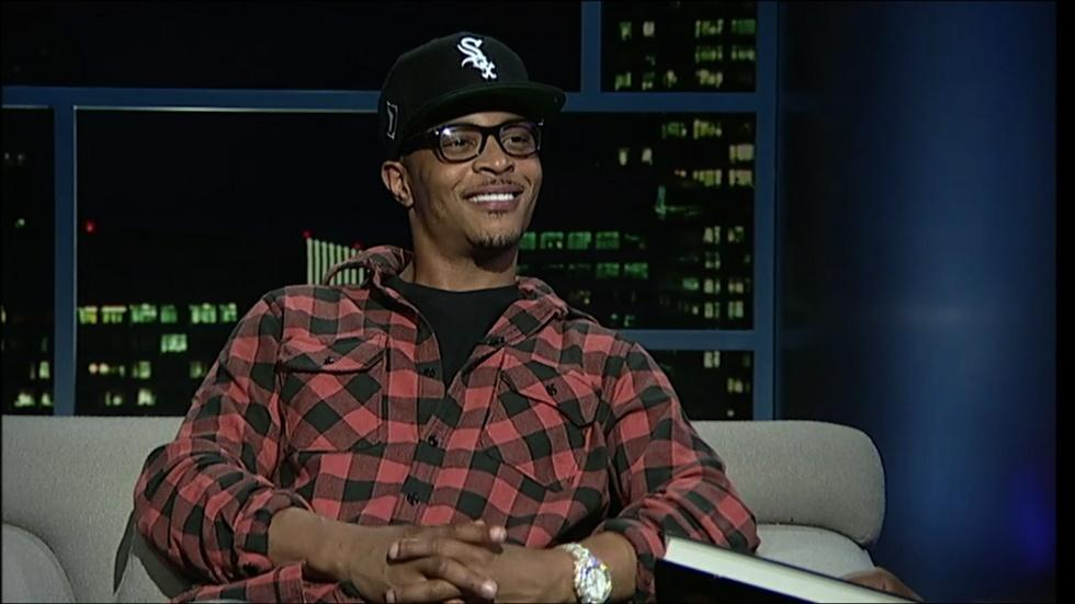 Hip-hop artist-actor T.I. image