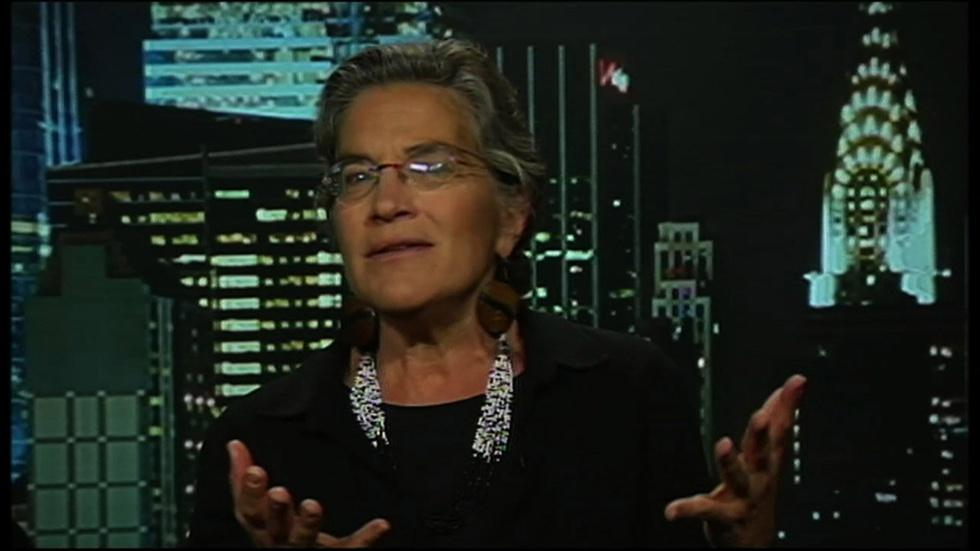 Foreign policy expert Phyllis Bennis image