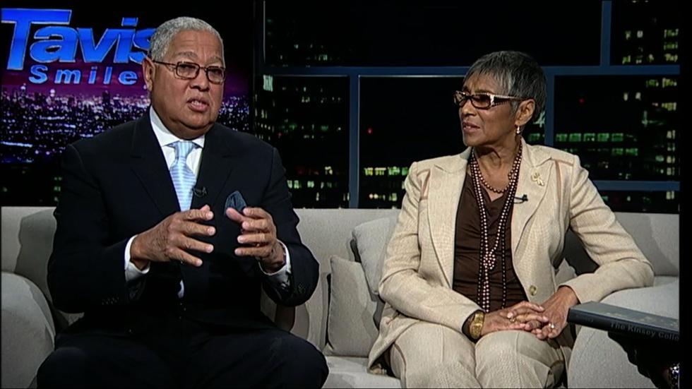 Philanthropists Bernard and Shirley Kinsey image