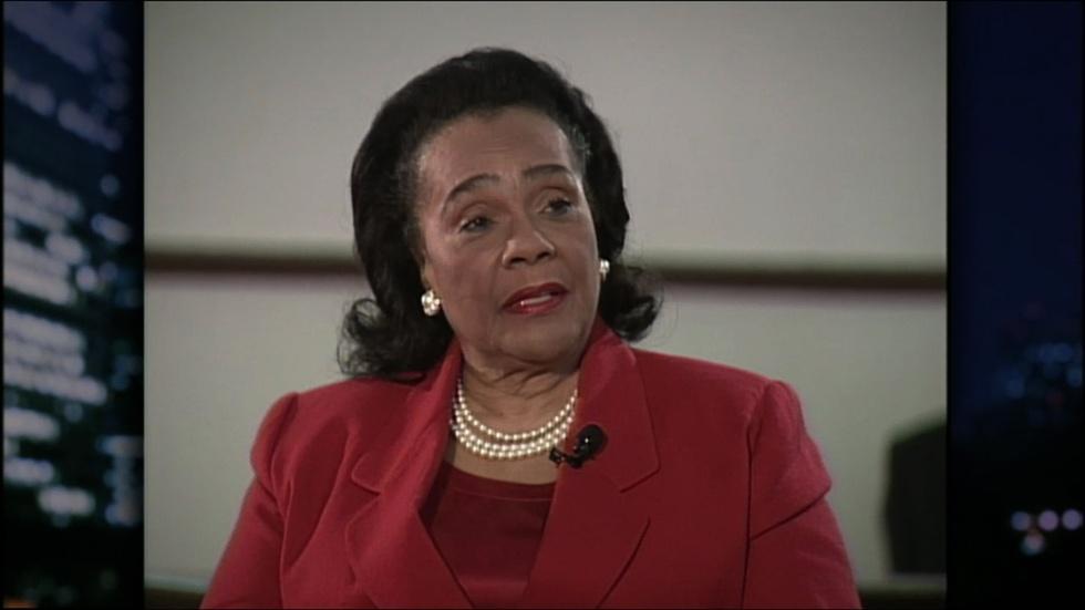 Civil rights activist Coretta Scott King image