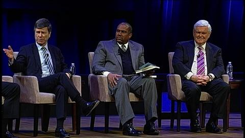 Tavis Smiley -- 'Vision for a New America' panel discussion - Part 3