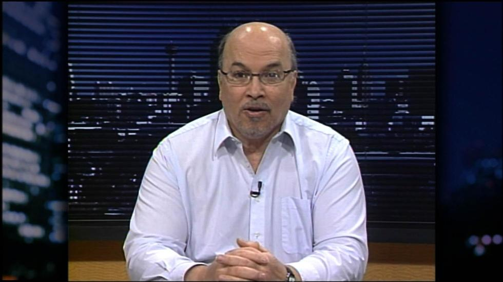 Exiled Libyan opposition leader Mansour El-Kikhia image