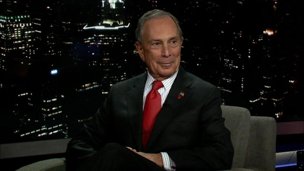 New York Mayor Michael Bloomberg image