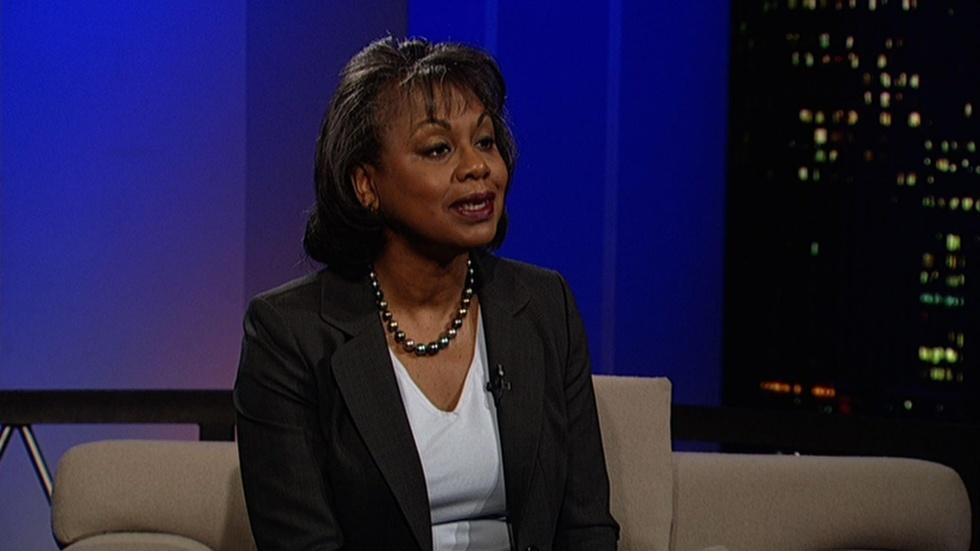 Law professor Anita Hill image