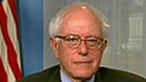 Tavis Smiley -- Sen. Bernie Sanders: Monday, 12/14/09
