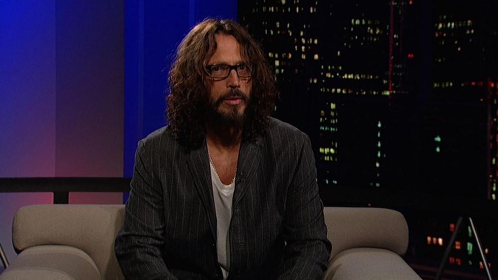 Rock musician Chris Cornell image