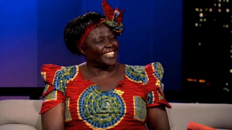 Environmentalist Wangari Maathai image