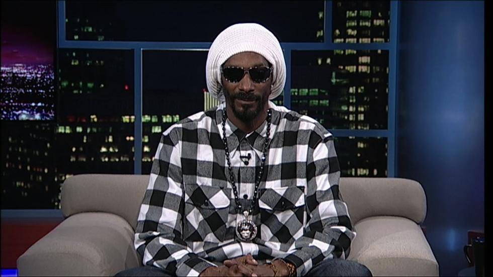 Rapper Snoop Lion image