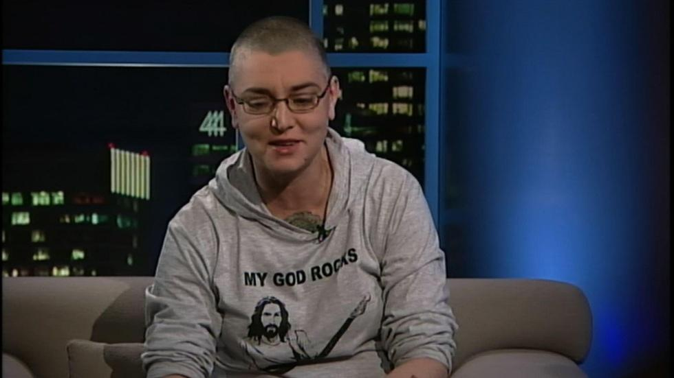 Singer-songwriter Sinead O'Connor image