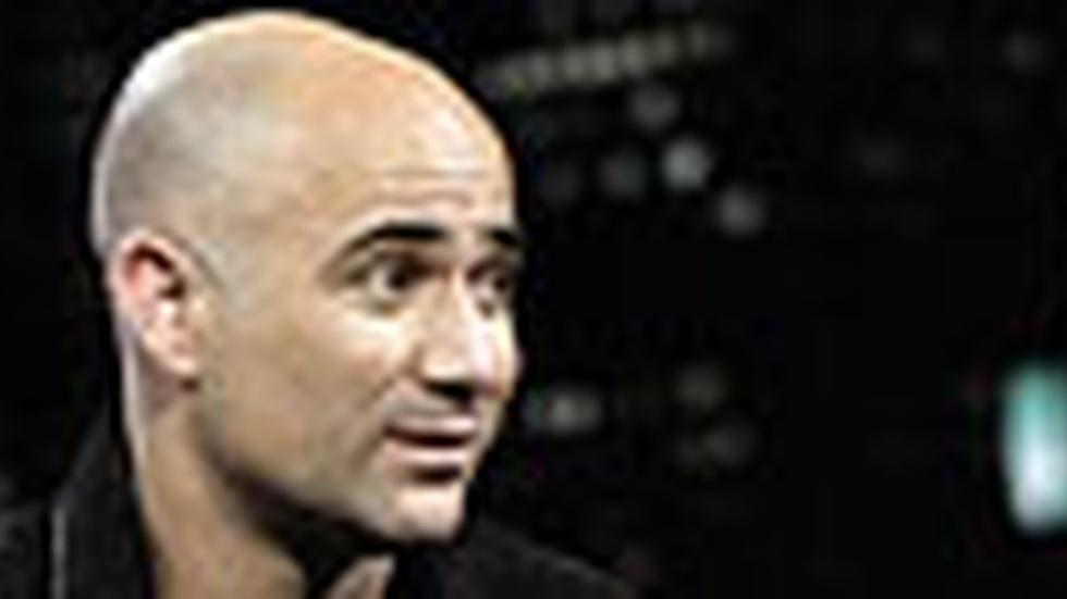 Andre Agassi: Thursday, 11/19/09 image