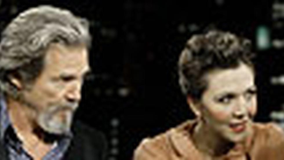 Jeff Bridges & Maggie Gyllenhaal: Monday, 12/14/09 image