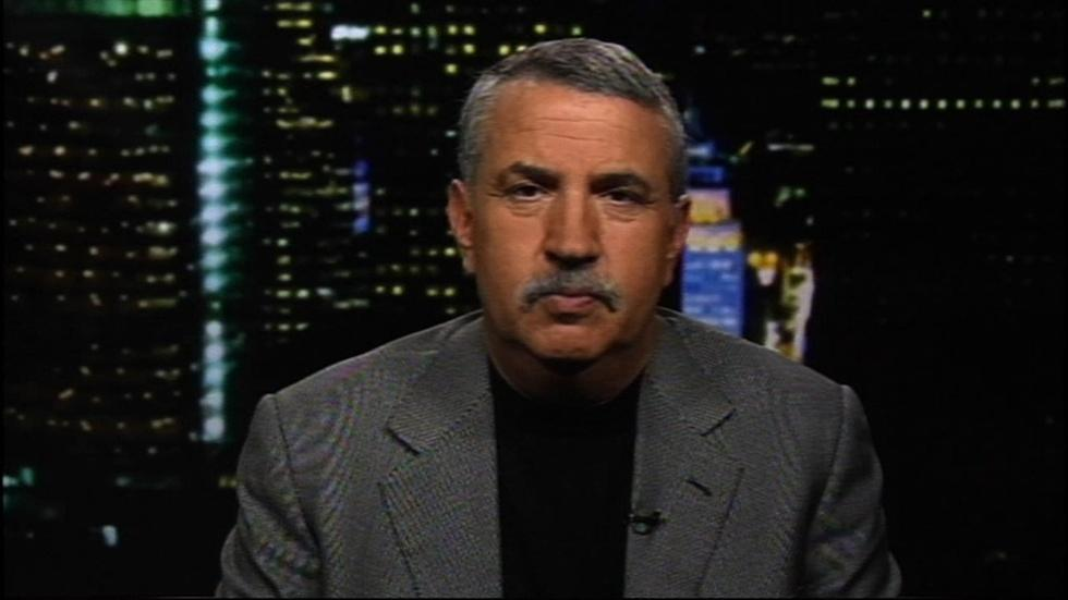 Journalist Thomas Friedman image