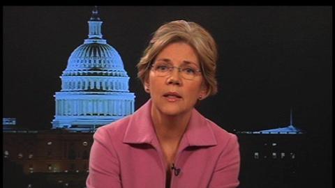 Tavis Smiley -- Elizabeth Warren - clip