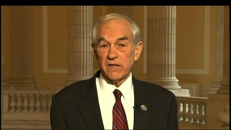Texas Rep. Ron Paul image
