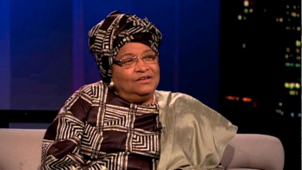 President of Liberia Ellen Johnson Sirleaf image