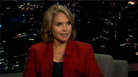 Tavis Smiley -- News Anchor Katie Couric