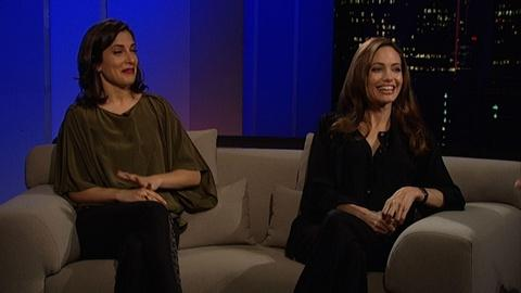 Tavis Smiley -- Angelina Jolie & Zana Marjanovic