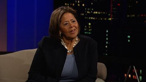 Tavis Smiley -- Actress-playwright Anna Deavere Smith