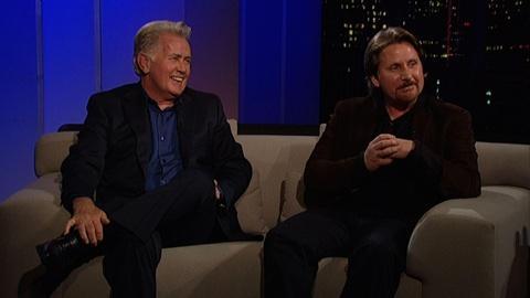 Tavis Smiley -- Martin Sheen and Emilio Estevez