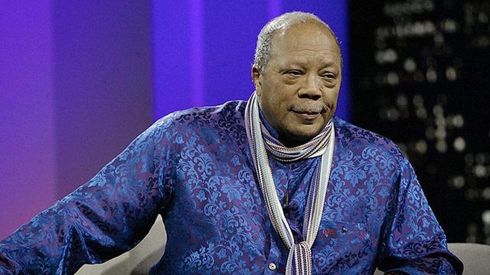 Music impresario Quincy Jones image