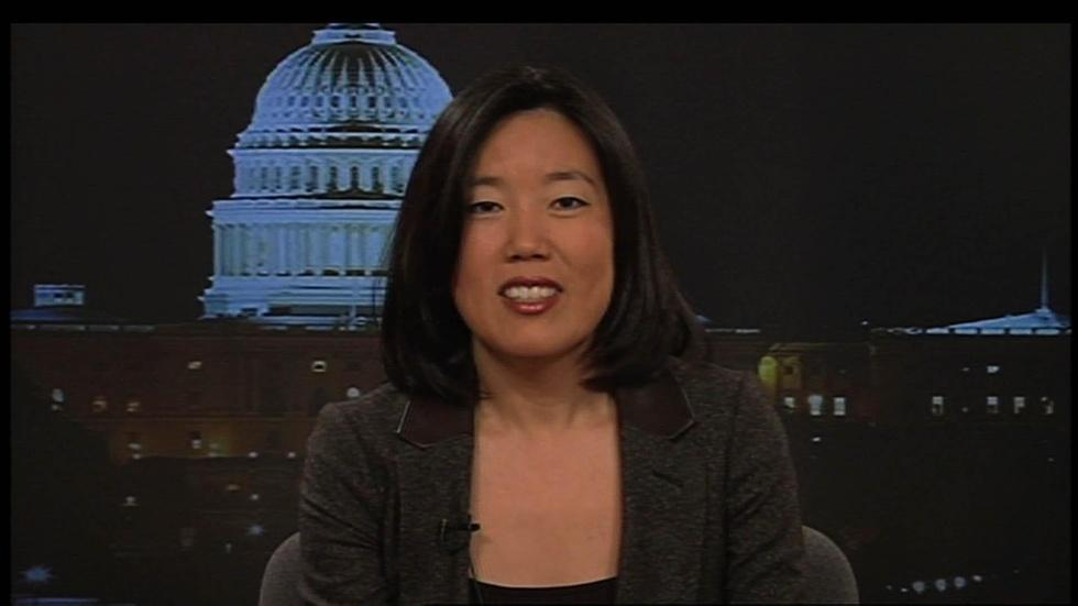 Former chancellor of the DC school system Michelle Rhee image