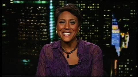 Tavis Smiley -- Journalist-author Robin Roberts