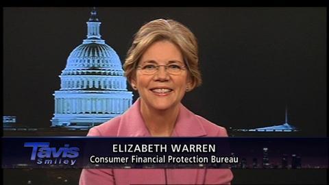 Tavis Smiley -- Elizabeth Warren: 1/12