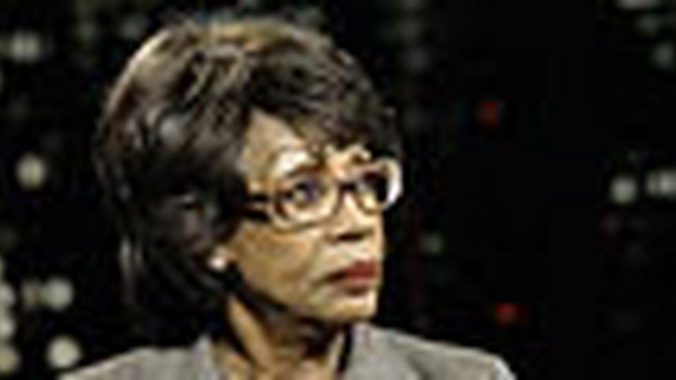 Rep. Maxine Water: Friday, 12/11/09 image