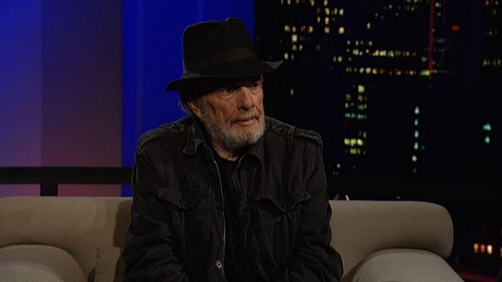 Country music legend Merle Haggard image