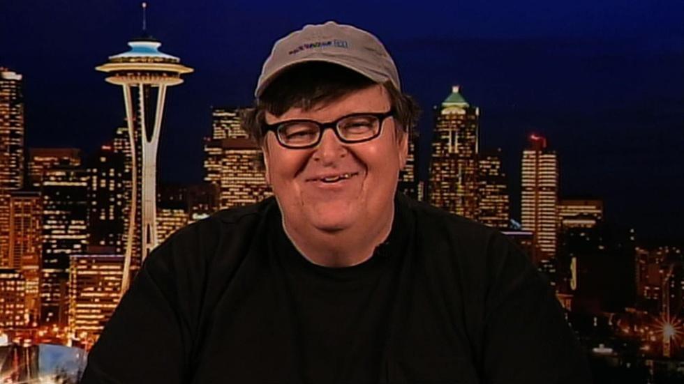 Filmmaker Michael Moore image