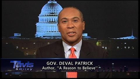 Tavis Smiley -- Massachusetts Gov. Deval Patrick