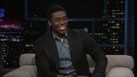 Tavis Smiley -- Actor Chadwick Boseman