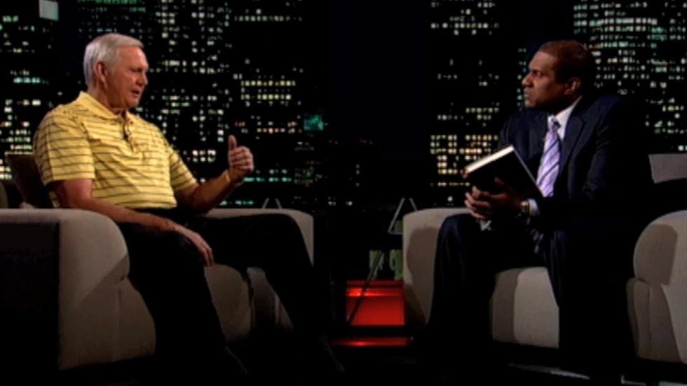 NBA legend Jerry West Clip image