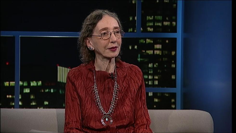 Writer Joyce Carol Oates image