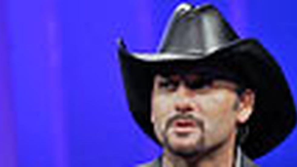 Tim McGraw: Wednesday, 10/28/09 image