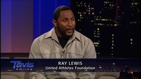Tavis Smiley -- NFL star Ray Lewis