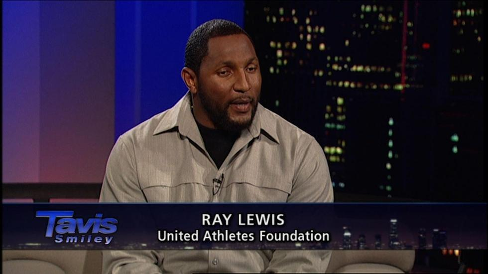 NFL star Ray Lewis image