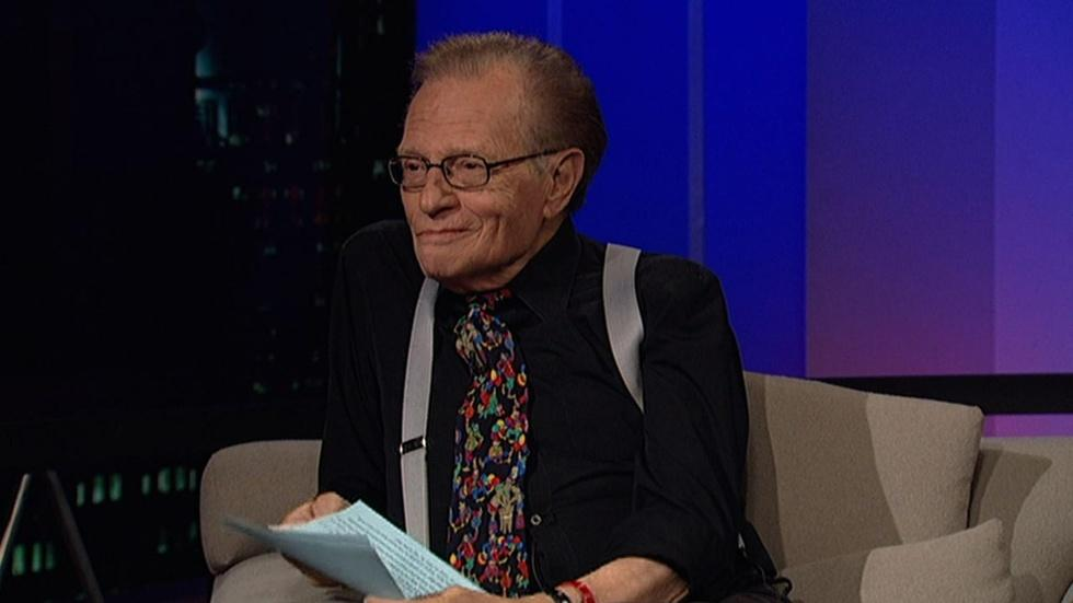 Legendary talk-show host Larry King image