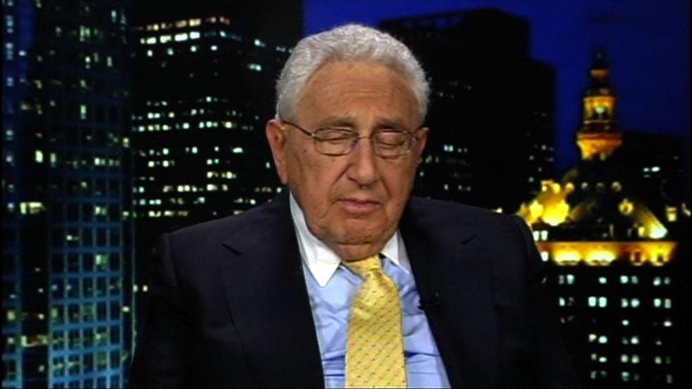 Former U.S. Secretary of State Henry Kissinger image