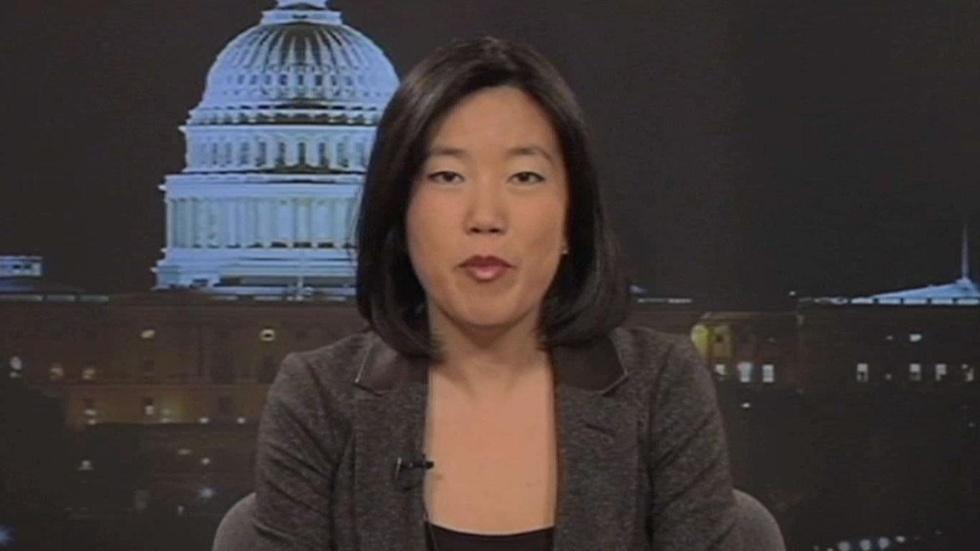 Former DC public schools chancellor Michelle Rhee image