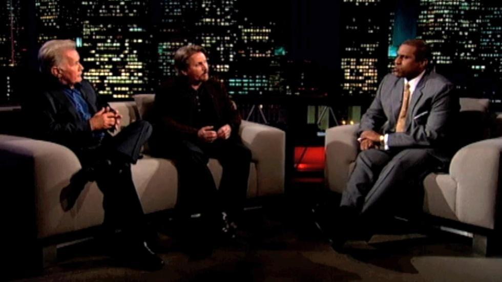 Martin Sheen and Emilio Estevez Clip image