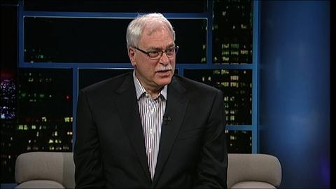 Tavis Smiley -- Former NBA coach Phil Jackson