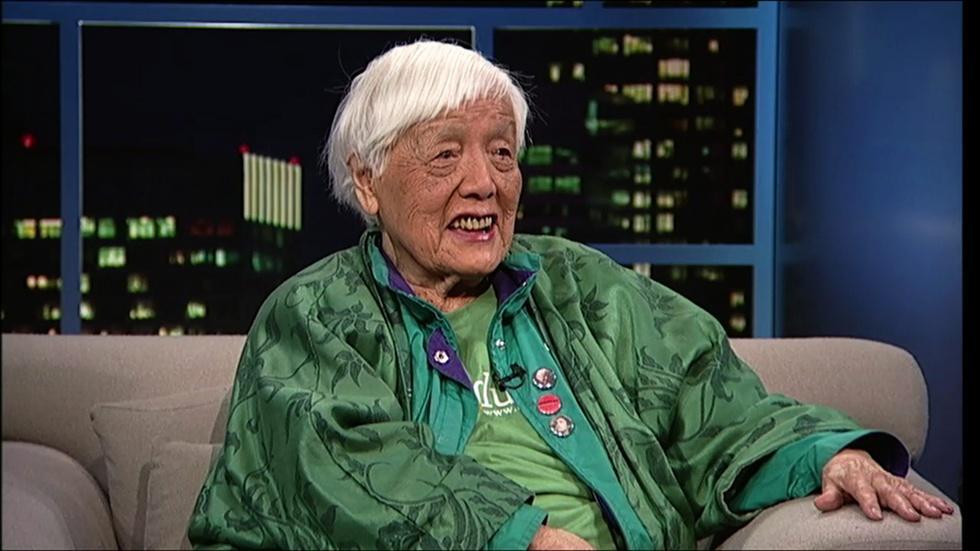 Writer-activist Grace Lee Boggs image